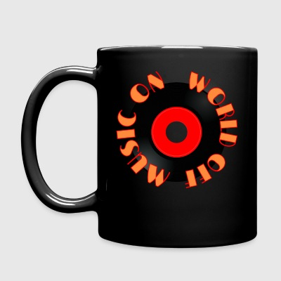 MUSIC_ON - Full Colour Mug
