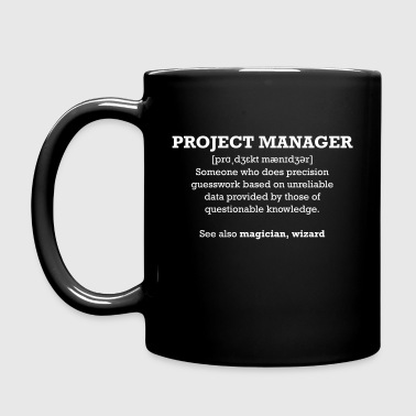 Project manager - wizard - Tasse einfarbig