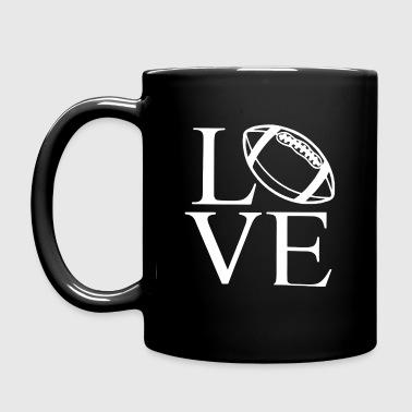 LOVE - AMERICAN FOOTBALL - Tasse einfarbig