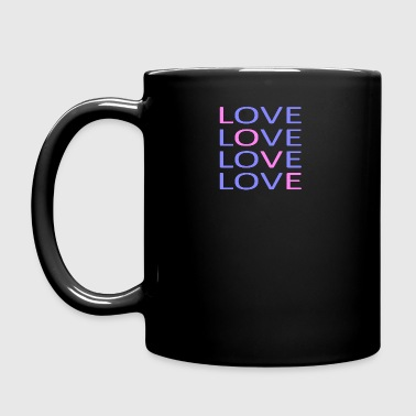 LOVE X4 - Full Colour Mug