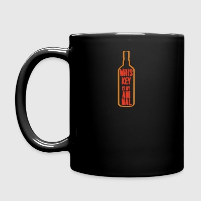 Whiskey - Whiskey is my Animal - Tasse einfarbig