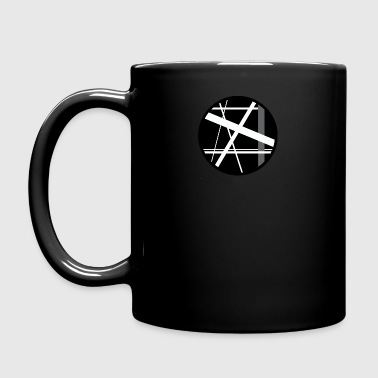 circular lines - Full Colour Mug
