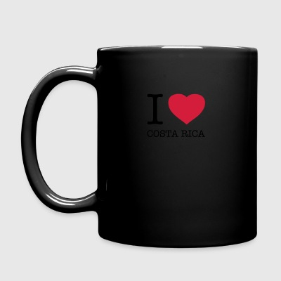 i love costa rica - Taza de un color