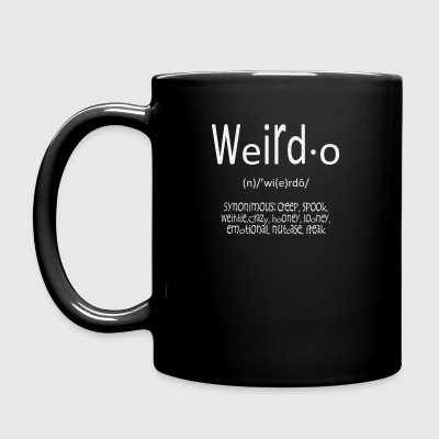 Weirdo - Taza de un color
