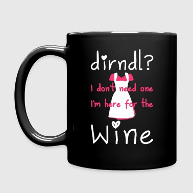 Dirndl? I don't need one, I'm here for the wine - Mok uni