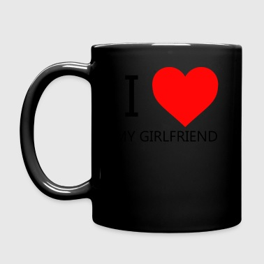 I LOVE MY GIRLFRIEND T-SHIRT - Full Colour Mug