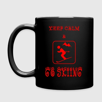 GO_SKIING - Full Colour Mug