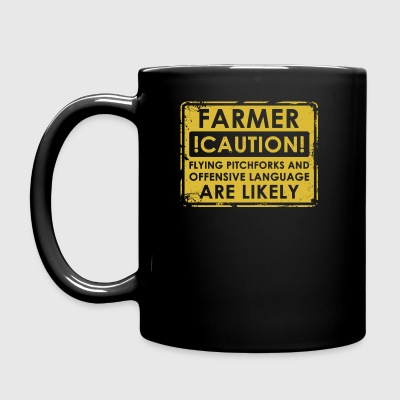Farmers pitchforks - Full Colour Mug