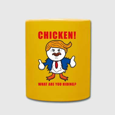 TAX MARCH CHICKEN - Taza de un color