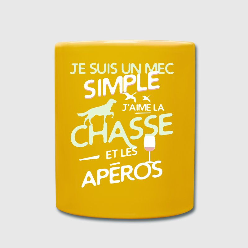 Chasseur - un mec simple - Mug uni