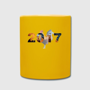 2017 Year of the fire cock - Full Colour Mug