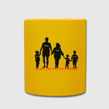 familia - Taza de un color