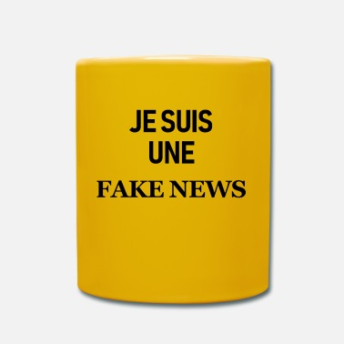 Fake Je suis une fake news - Mug