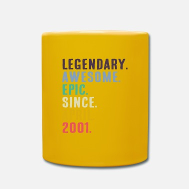 Birth Legendary Awesome Epic gift since April 2001 - Mug