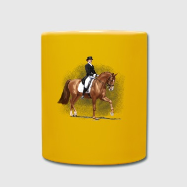 dressage - Full Colour Mug