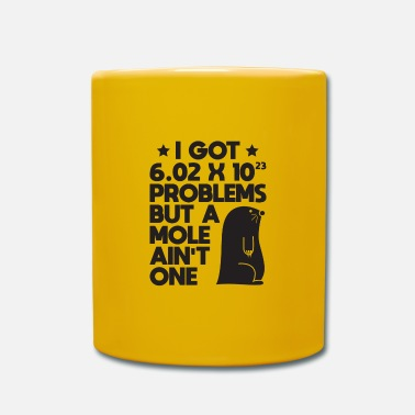 Chemistry Mole Day Problems Avogadro's Number Gift - Mug