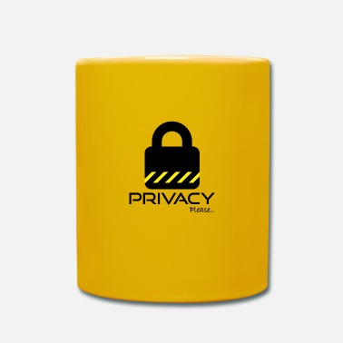 Please Privacy Please Please ... privacy please ... - Mug