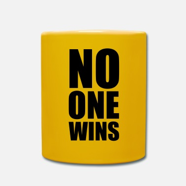 Humorous Son Provoking no one wins - Mug