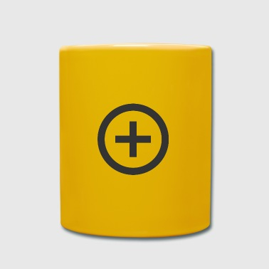Plus Plus | Symbol | Black | gift idea - Full Colour Mug