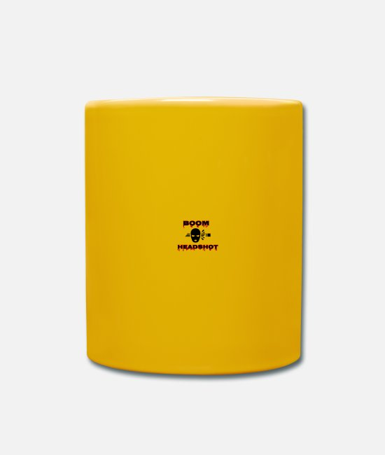 Play Mugs & Drinkware - Headshot - Mug sun yellow