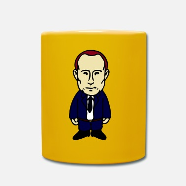 Caricature Vladimir Putin Caricature in the Pharell style - Full Colour Mug