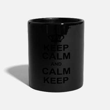 Keep Calm keep calm and calm keep kg10 - Mug
