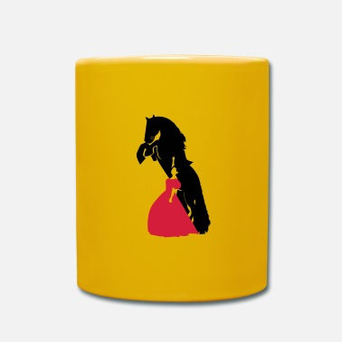 Racy Wild horse and Racy woman - Mug