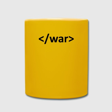 HTML - Stop the war - Full Colour Mug