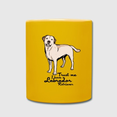 Labrador Retriever Golden Retriever Dog - Full Colour Mug