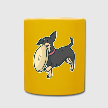 Animal lover gift dog Frisbee - Full Colour Mug