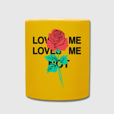 Rose Graphic Rose Loves Me Loves Me Not - Kubek jednokolorowy