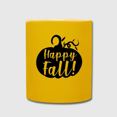 Happy case! - PUMPKIN HALLOWEEN Autumn Pumpkin - Full Colour Mug