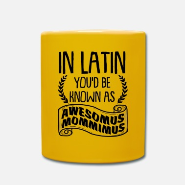 Day Mothers' day Awesomus Mommimus Gift - Tasse einfarbig