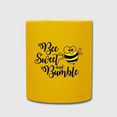 Bumble Bee Beekeeper bee sweet and bumble poison - Full Colour Mug