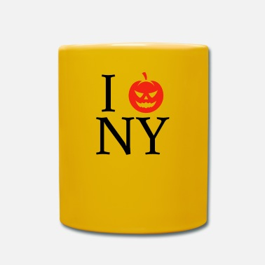 I Love New York Pumpkin I Love New Yorkin New Yorkin Halloween NYC - Yksivärinen muki