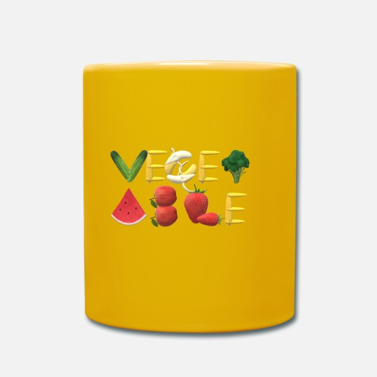 Vegetable Mugs & Drinkware - vegetable - Mug sun yellow