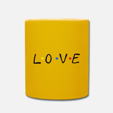 Design Love friends series love design love - Mug