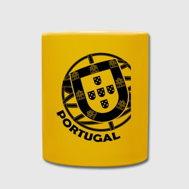 Escudo de Portugal - Taza de un color