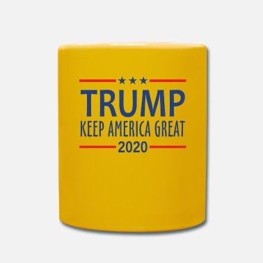 Trump Trump Keep America Great - Kubek