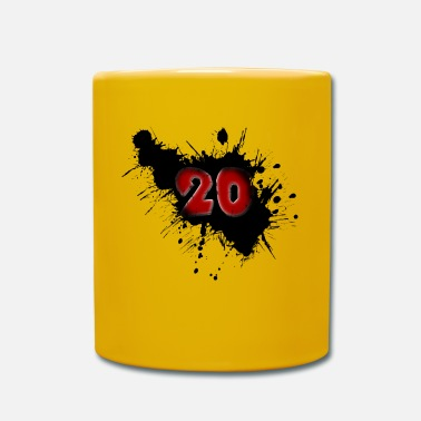 Date Of Birth Date of birth 20 years - Full Colour Mug
