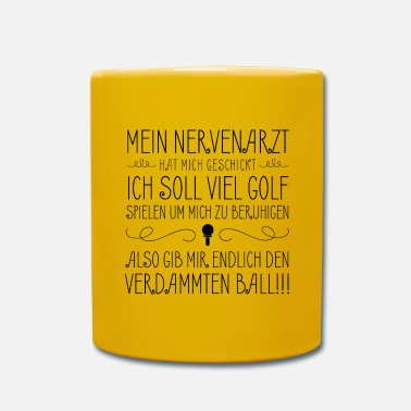 Golf Golf - Golfing - Full Colour Mug