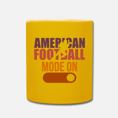 College Football Football américain En Mode Tackle College - Mug