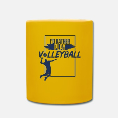 Volleyball Volleyballer Volleyballer Volleyballer - Tasse
