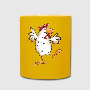 dancing chicken hen funny cartoon by modartis spreadshirt