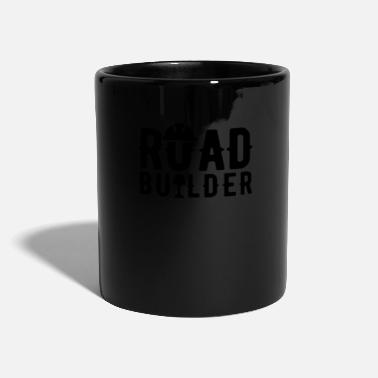 Asphalt Bauer Road construction workers asphalt team road builders - Mug