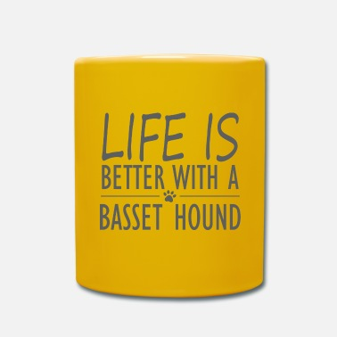 Kampfhund life is better with a basset hound - Tasse