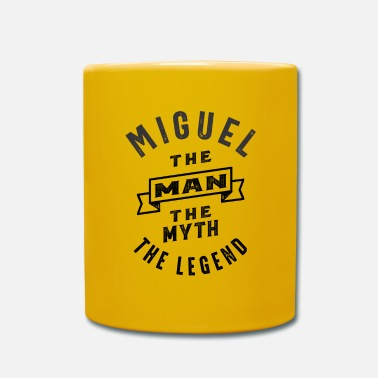 Miguel Ángel Miguel Personalized Name Birthday Gift - Mug
