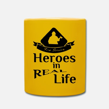 Fire Service Heroes in Real Life (Feuerwehr - Fire Service) - Mug