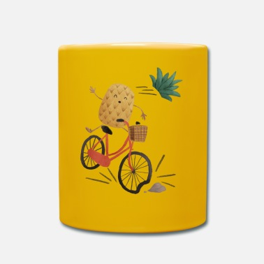 Collections Pineapple Bike Obstacle - Yksivärinen muki