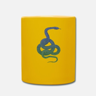 Serpent Drawn serpent - Mug